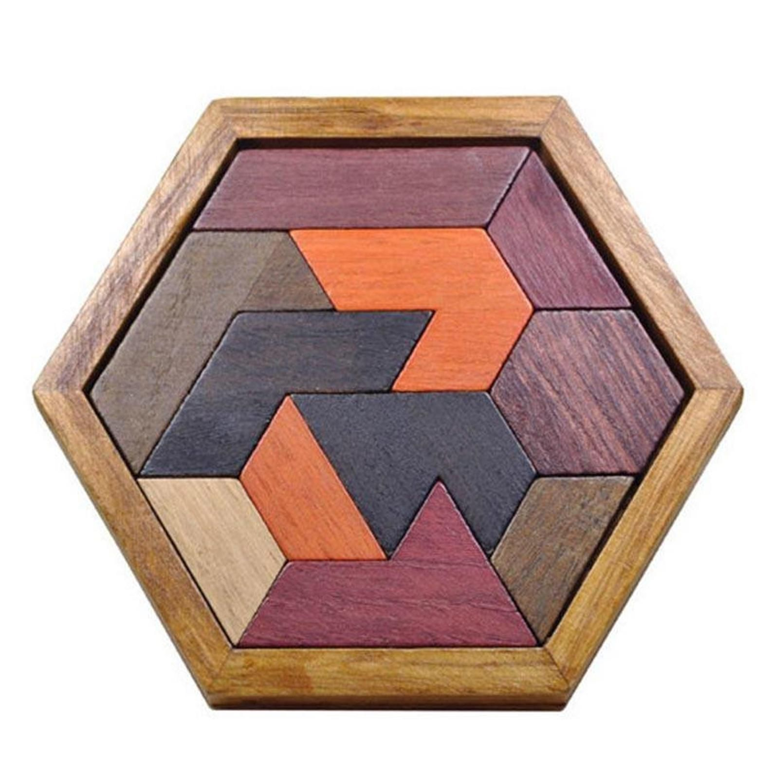 New daily puzzles each and every day! Wooden tangram puzzle wooden puzzle board Jigsaw puzzle ...