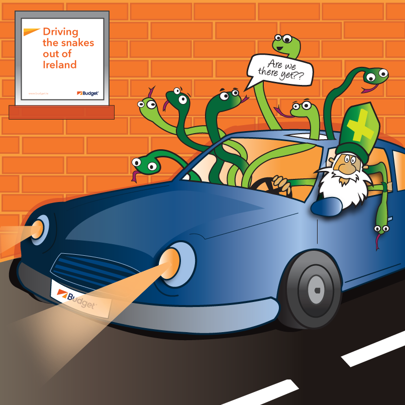 Budget Car Rental Ireland Driving in Ireland Driving