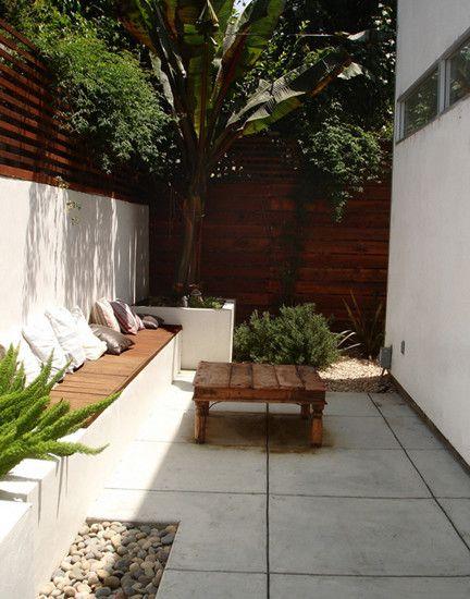 Jazzy Contemporary House In Minimalist Design Awesome Modern Patio Design Minimalist Furnitur Backyard Landscaping Designs Small Backyard Landscaping Backyard