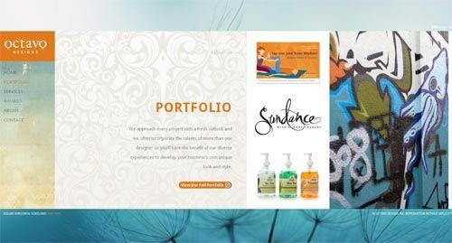 design print portfolio google search