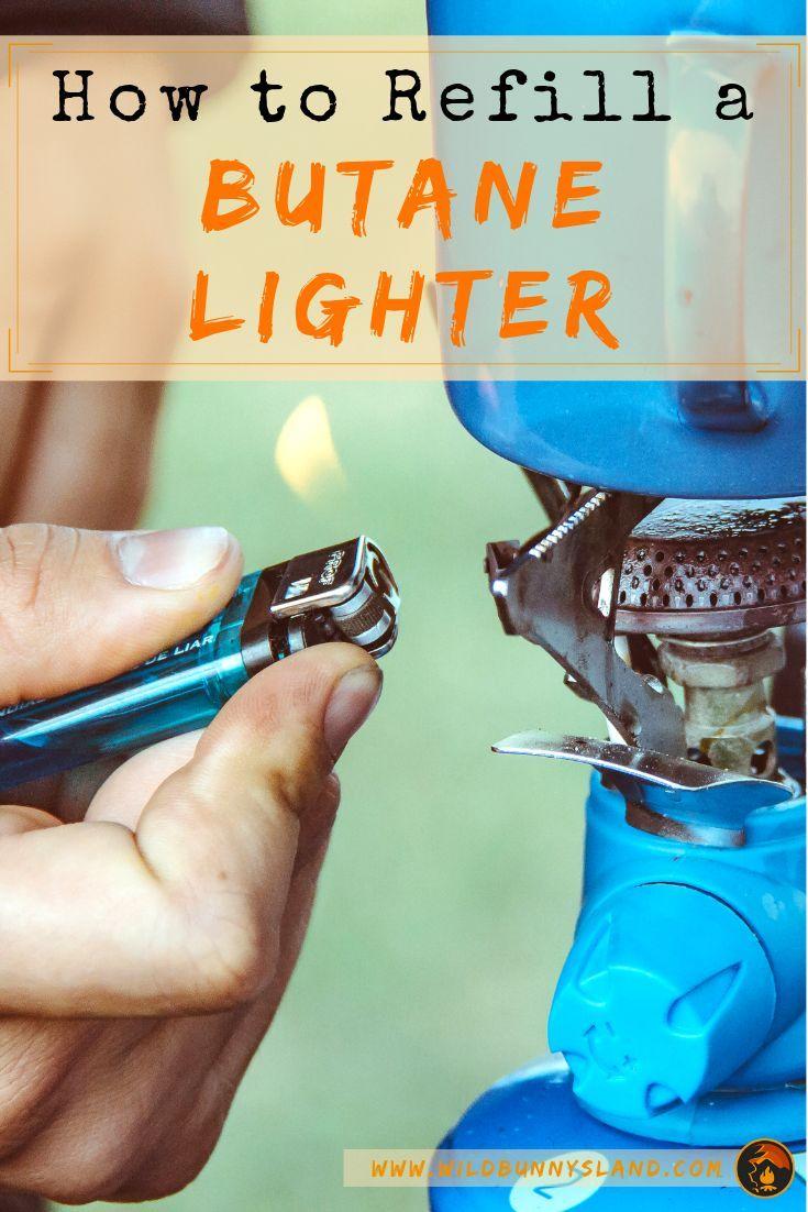How to refill a butane lighter butane lighter butane