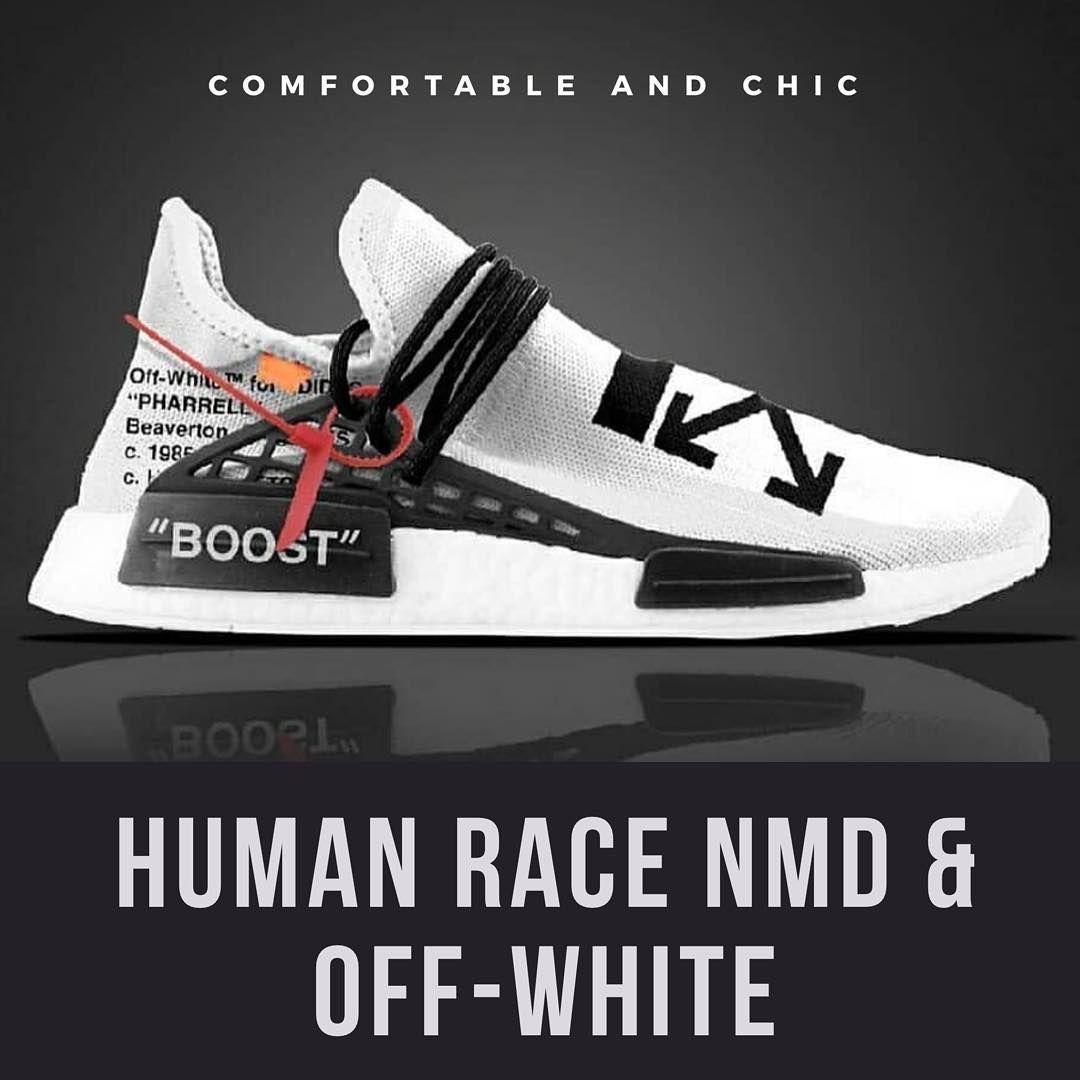 8ea7b0d929f22c Встречайте белые кроссовки Human Race в коллаборации с Off-White. ⚡  Кроссовки…