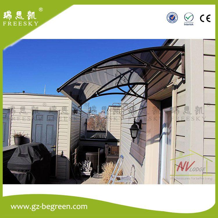 YP100480 100x480cm Polycarbonate Clear Sheet DIY Outdoor Window Patio UV  Rain Awning Cover Sun Shield Door Canopy