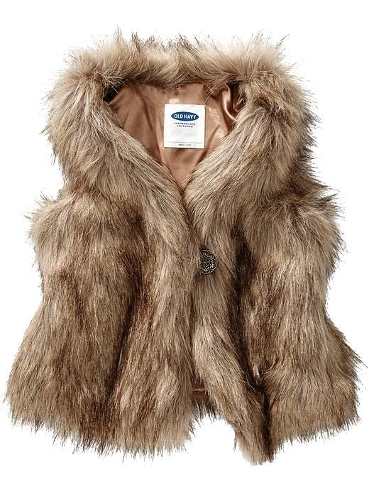 1a6c8a703 Faux-Fur Vests for Baby Product Image