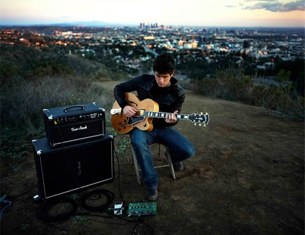 John Mayer Guitar Amp And Awesome Backdrop Los Angeles I
