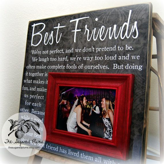 Unique Wedding Gifts For Best Friend: Best Friend Gift, Sister Gift, Bridesmaid Gift