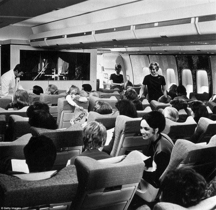 British Airways 747 Economy Class