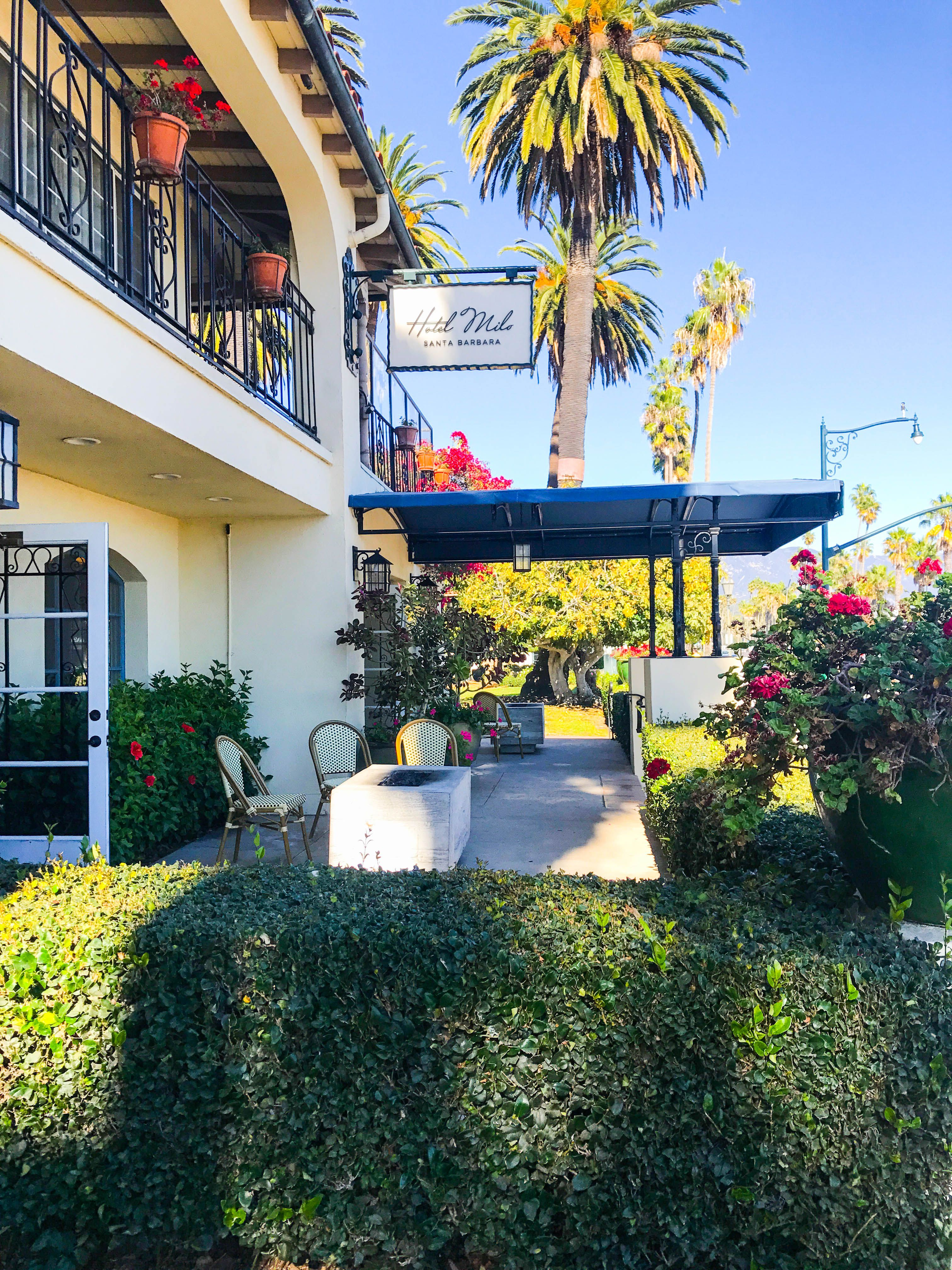 Welcome To Hotel Milo Perfectly Situated On The Santa Barbara