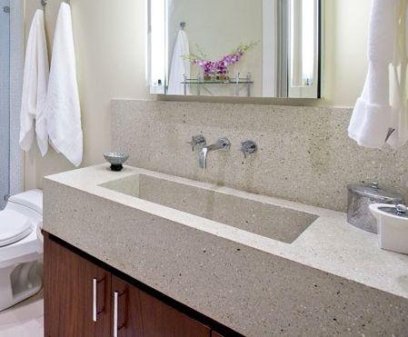 terrazzo single slab sink | home inspiration | pinterest ... - Terrazzo Kitchen Sinks