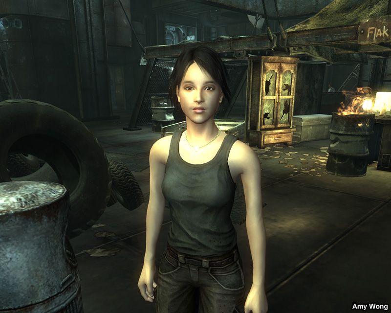 Amy Wong Companion at Fallout3 Nexus - mods and community