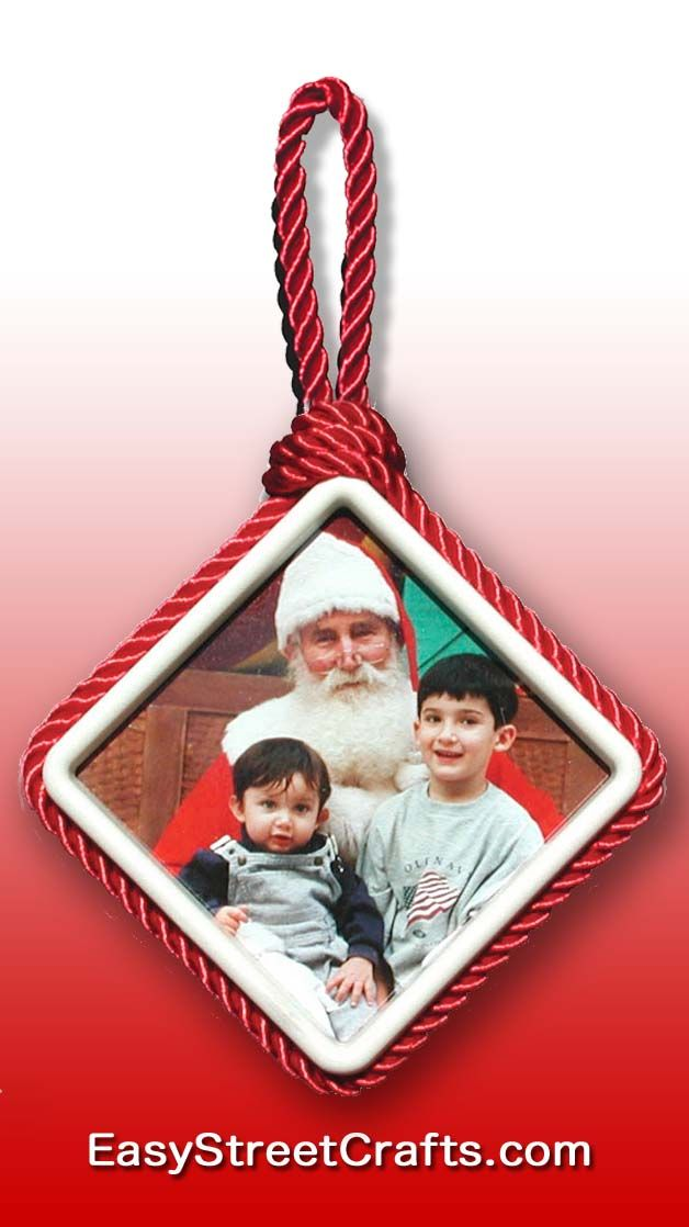 TWO GOOD LITTLE BOYS! Framed in Square Two-Sided Ornament Frame from ...