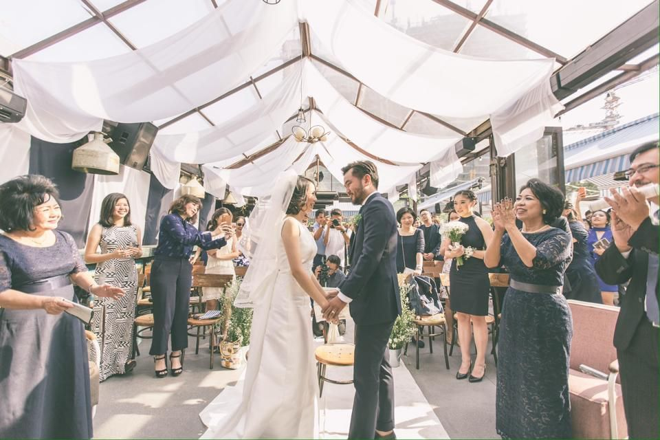 Fun and Intimate Wedding at Lucy In The Sky Intimate