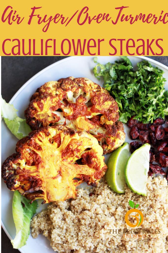 Air Fryer Cauliflower Steaks Recipe in 2020
