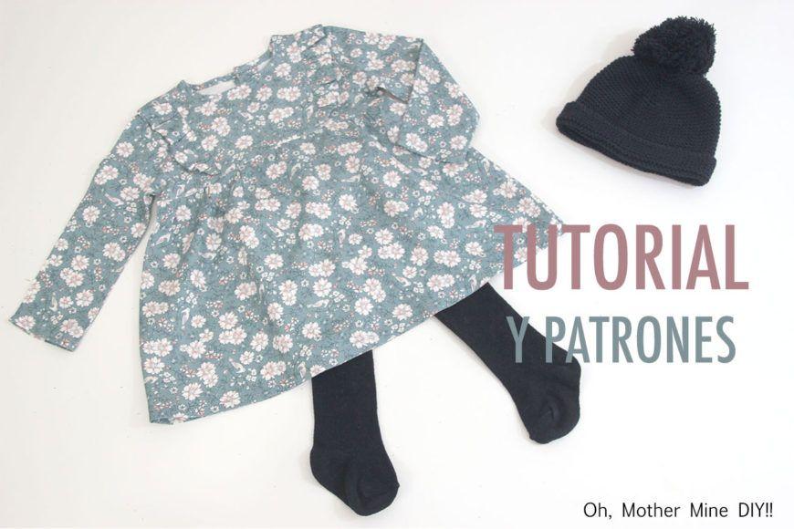 Free pattern and tutorial | Patrones niños | Pinterest