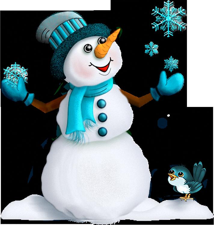 Снеговик картинки для детей, поздравления днем рождения