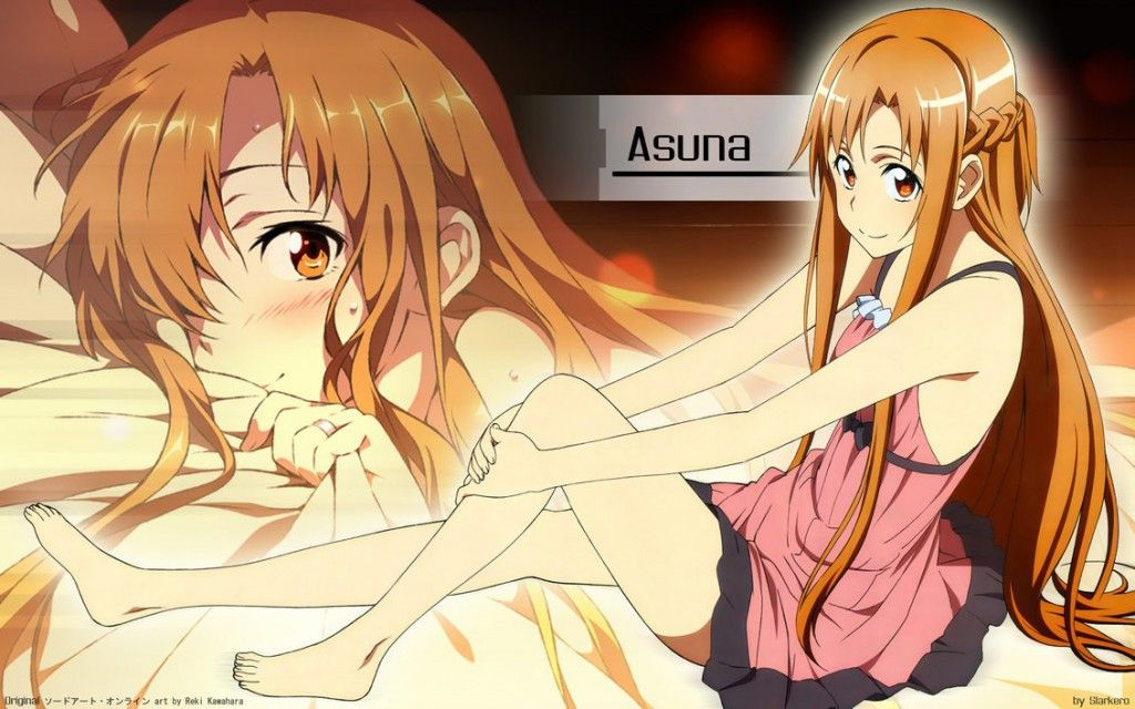 Fan Wallpaper Anime Sword Art Online Photoshop CS My Favorite Character Asuna Yuuki Im Currently Watching The Adaptation
