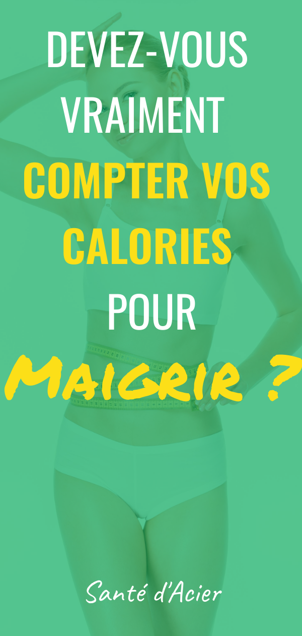 calories femme pour maigrir