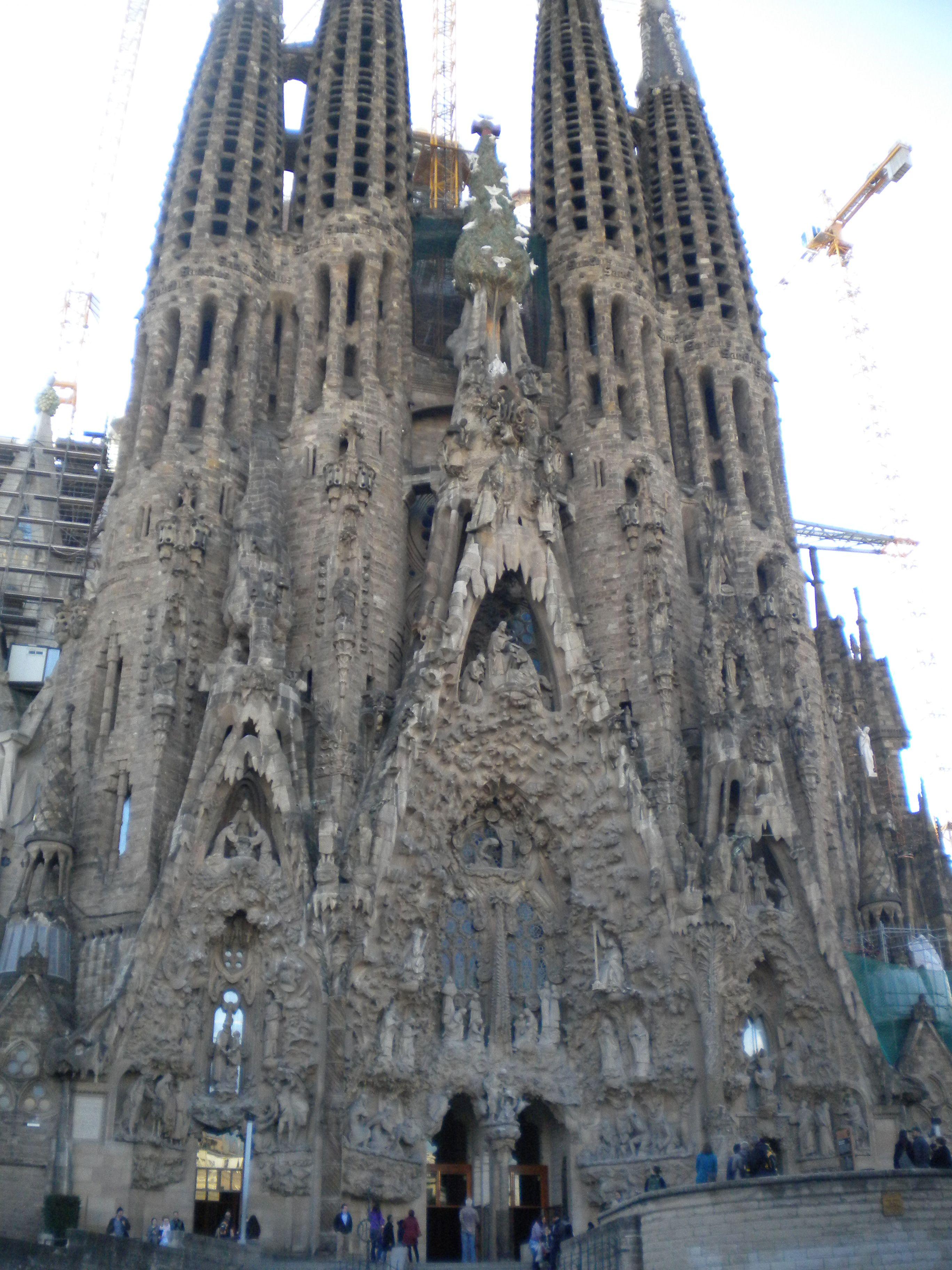 Famous Church Barcelona Spain