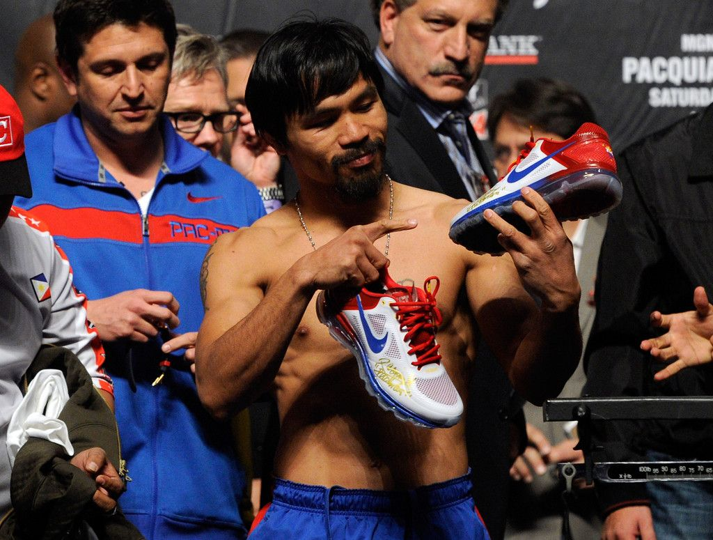 Manny Pacquiao Nike Air Max Trainer 1.3 Breathe