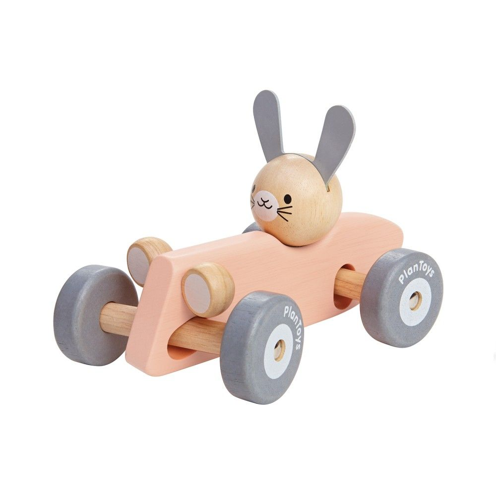 plantoys : sustainable play - bunny racing car - category