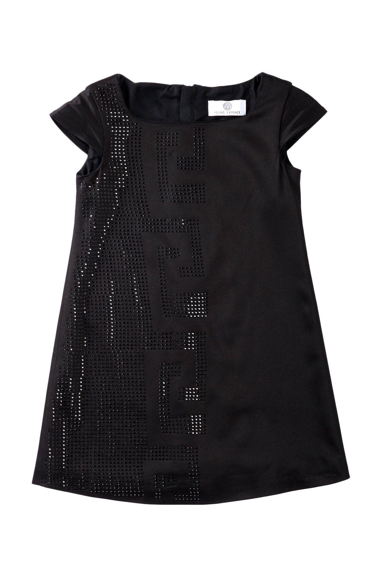 d4f7fb612 Young Versace Greek Key Shift Dress (Toddler Girls & Little Girls) by  Versace on @HauteLook