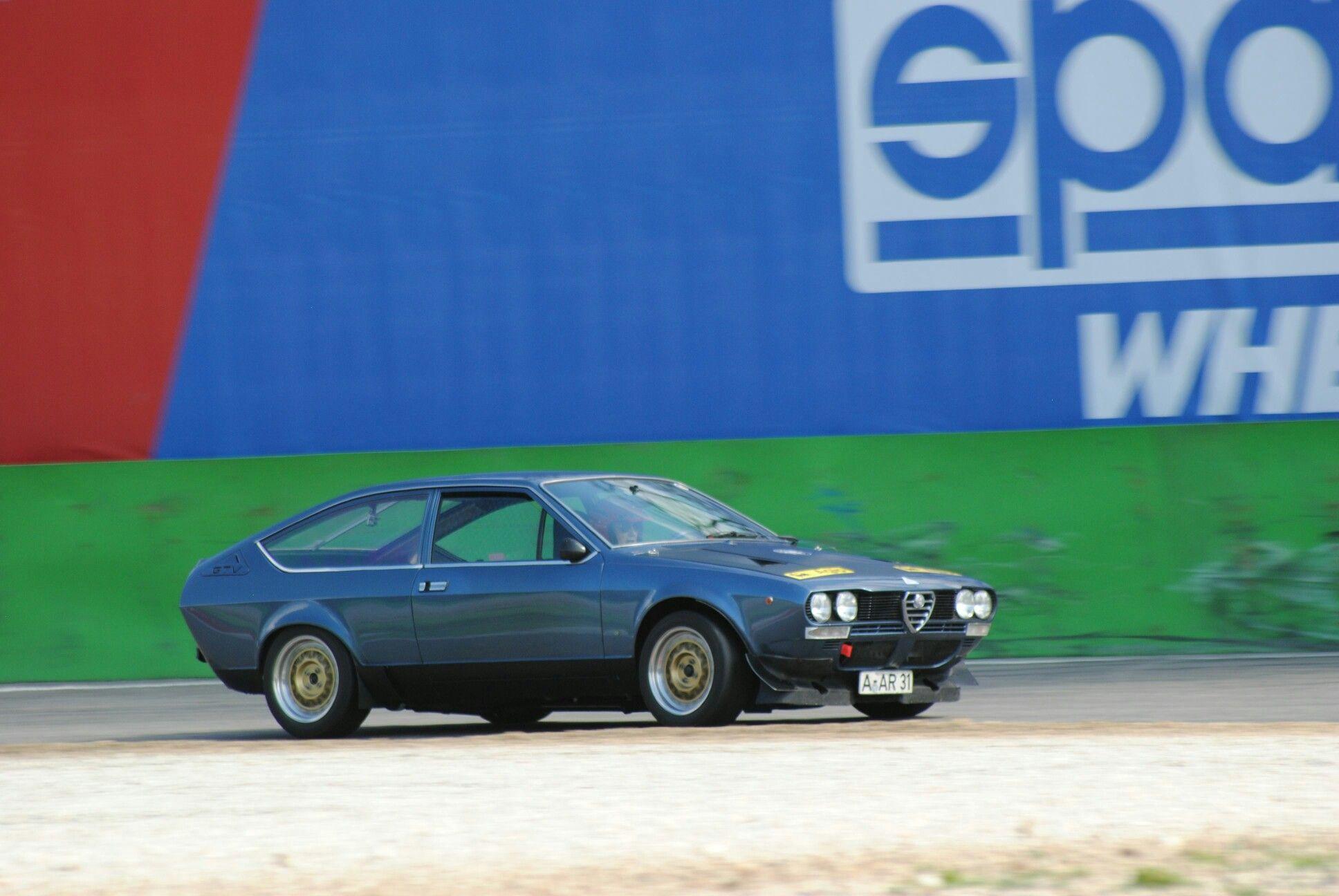 Alfetta GTV 2000 TS a Monza