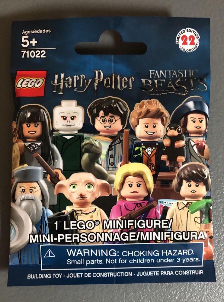 Choose Your Minifigure 71022 Lego Harry Potter Fantastic Beasts