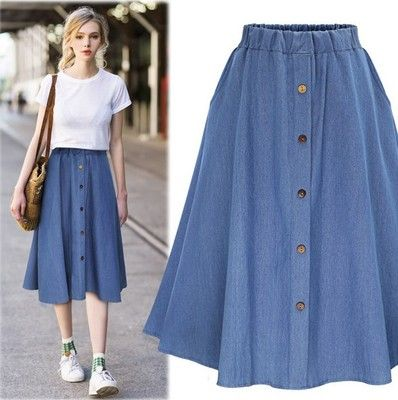 070bc704e9 Wholesale New Large-Size Jeans Loose Half-length Skirt Fat Mm Loose Waist  Half-length Women's Skirt S-3XL ($13.33/pc) from Import-Express with high  quality ...