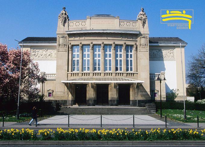 Stadttheater Giessen Grosses Haus Giessen Stadttheater Giessen