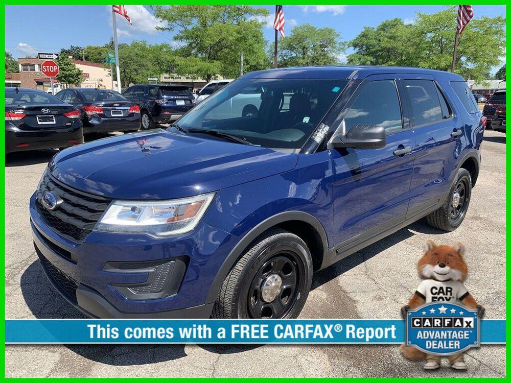 2016 Ford Explorer Police Interceptor 2016 Police Interceptor Used 3 7l V6 24v Automatic Awd Suv In 2021 Ford Explorer Used Ford Explorer Ford Explorer For Sale