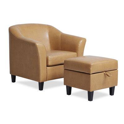 Incredible Red Barrel Studio Lone Peak Club Chair Ottoman Products Inzonedesignstudio Interior Chair Design Inzonedesignstudiocom