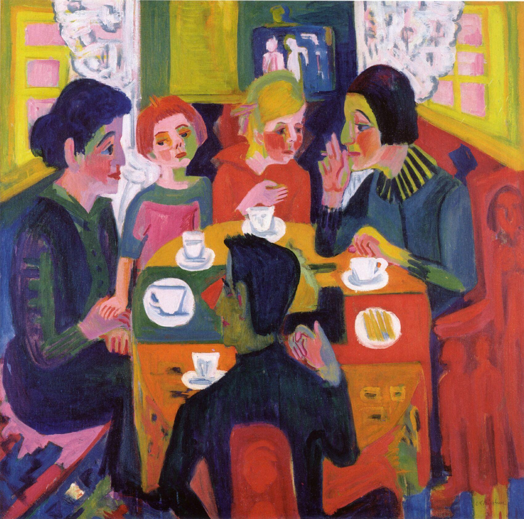 1.-kirchner-kaffeetisch-1923-2 (1700×1684) | am--die brucke, Esstisch ideennn