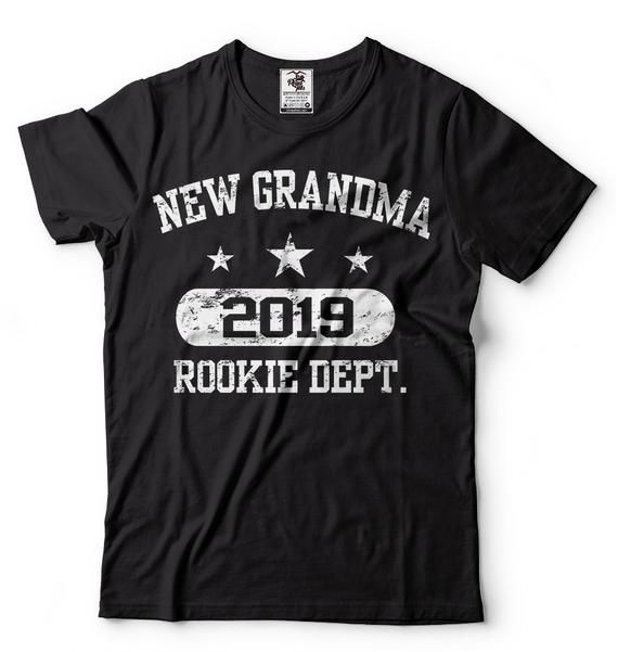 9a1e2c2f New Grandma 2019 T-Shirt Funny New Grandma Grandmother Granny T-Shirt