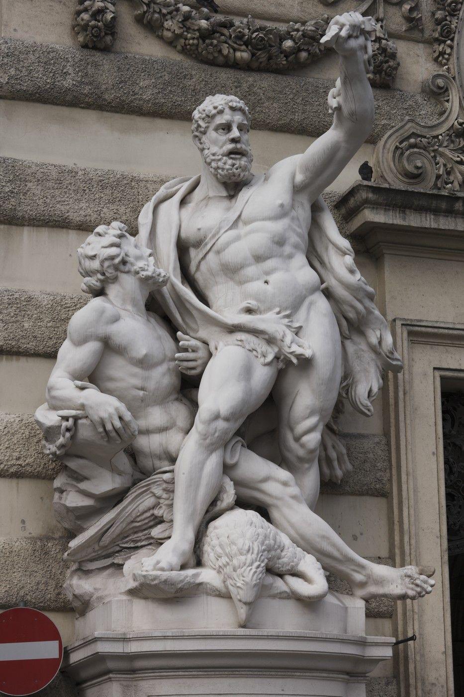 Hercules liberando a Prometeo Viena