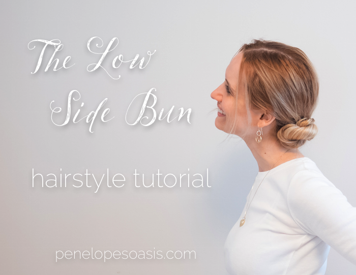 The Elegant Low Side Bun Hairstyle Tutorial #lowsidebuns