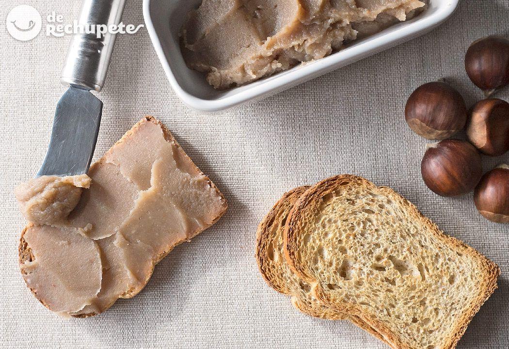 Crema Casera De Castañas Receta Recetas De Comida Postres Con Castañas Castaña