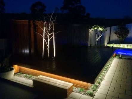 Outdoor Strip Lighting Mesmerizing Image Result For Outdoor Strip Lighting  Pool  Pinterest  Lights Design Decoration