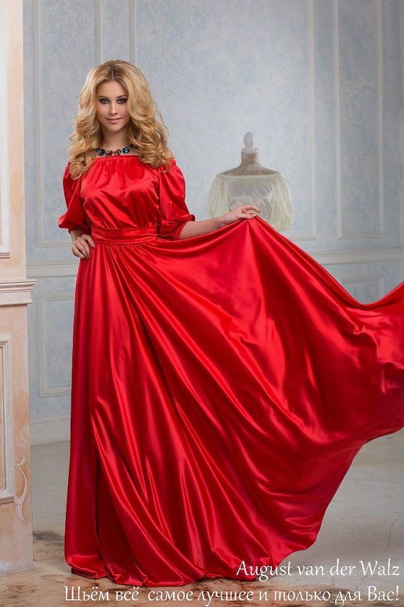 rotes kleid maxi von schulter sommerkleid plus von. Black Bedroom Furniture Sets. Home Design Ideas