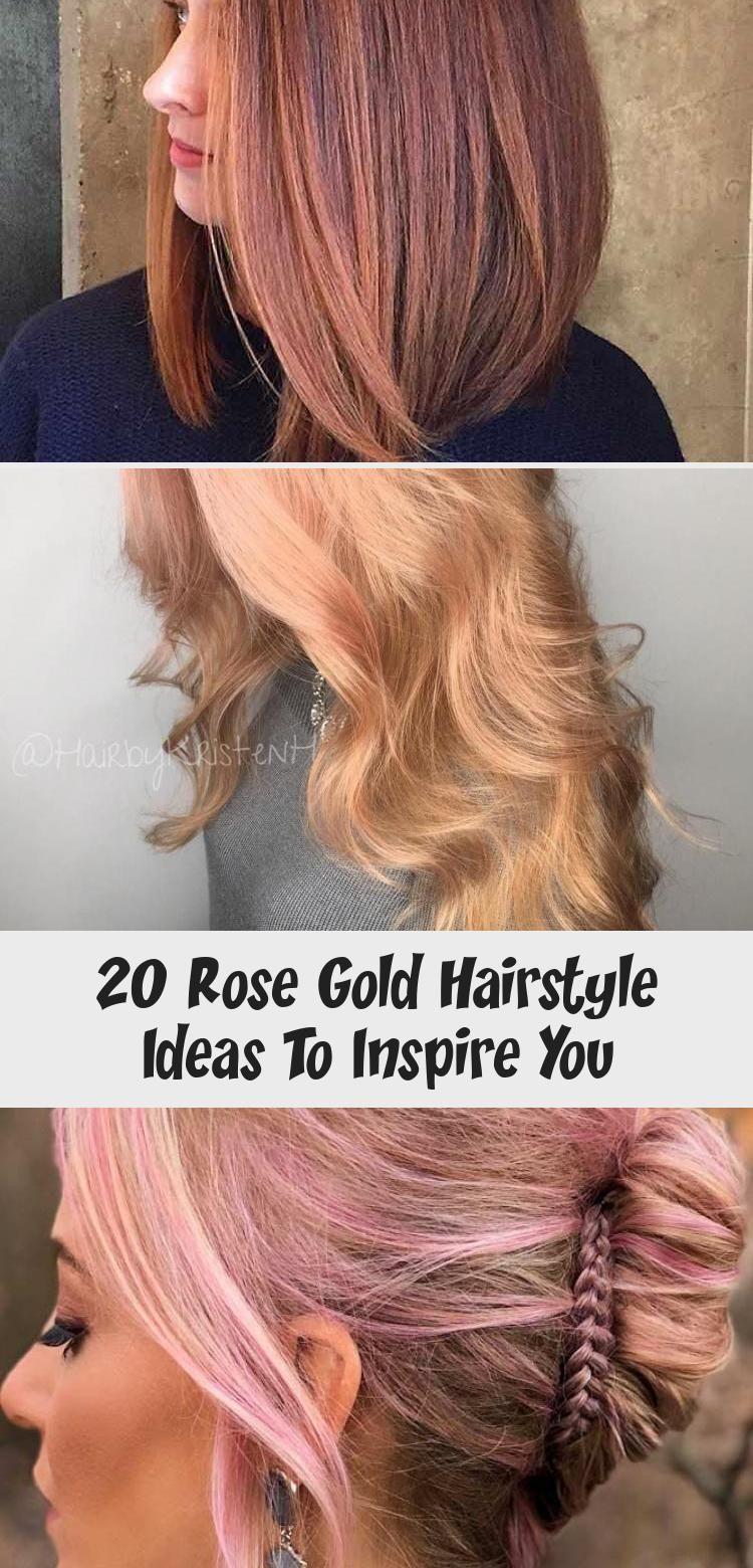 Photo of Die Idee unten für eine Frisur aus 20 Roségold beinhaltet sowohl kurze … – Die Idee …