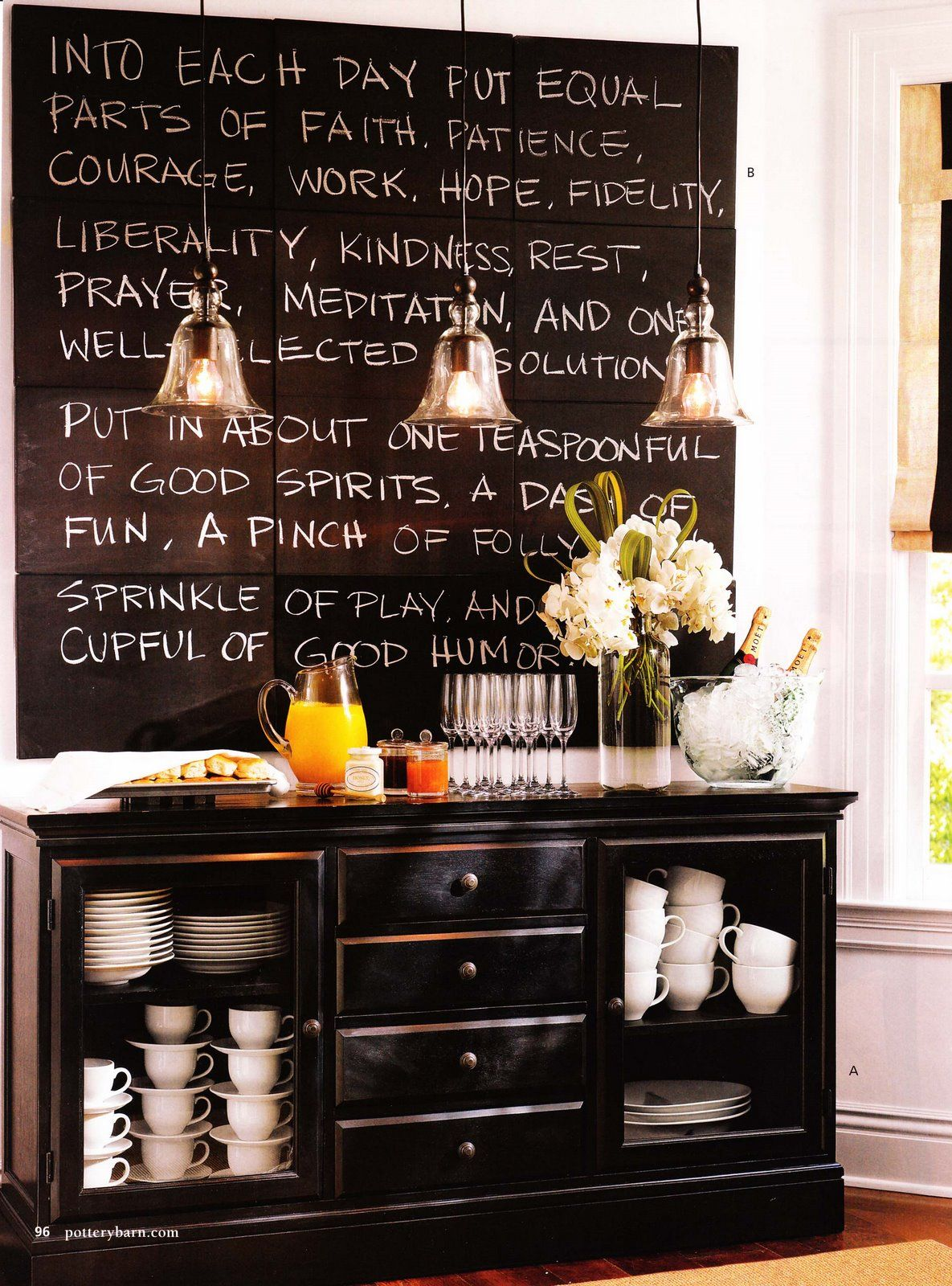chalkboard wall decor kitchen miserv - Kitchen Chalkboard Ideas