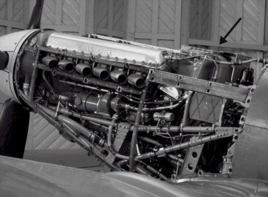 Supermarine Spitfire Rolls Royce Merlin engine … | Pinteres…