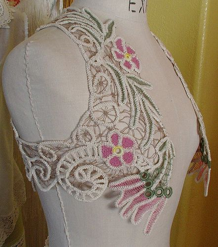 Romanian Point Lace Vest