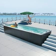 Swim Spa Installation Ideas Google Search Swimspas Pools Landscaping Pinterest