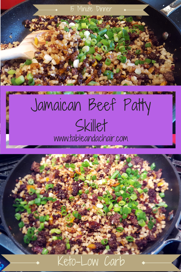 Jamaican Beef Patty Skillet In 2020 Jamaican Beef Patties Keto Beef Recipes Beef Patty