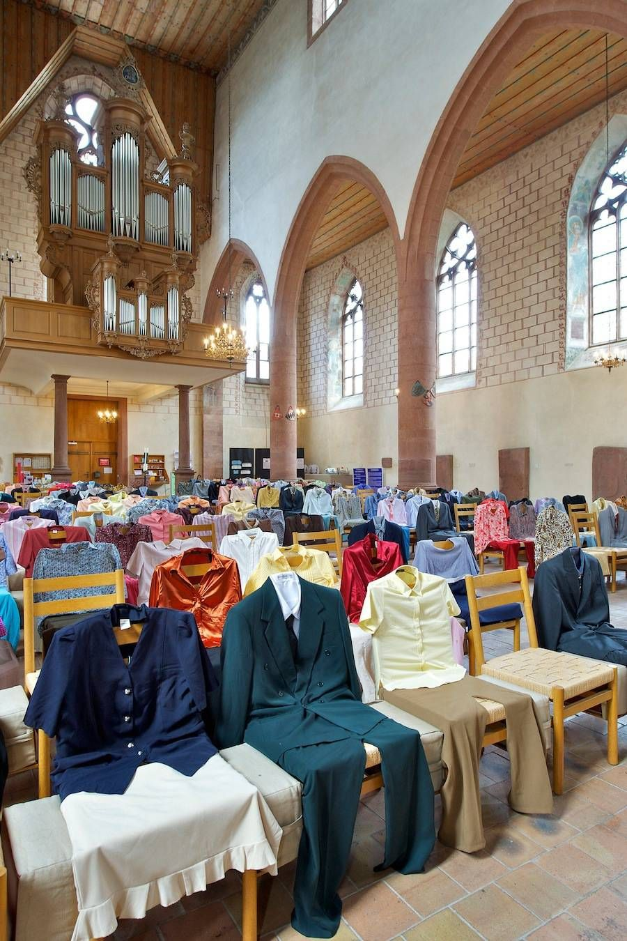 Invisible People Installation In Church - 2019 Art