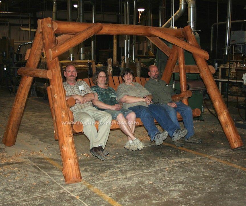 massive log swing from cedar lake!