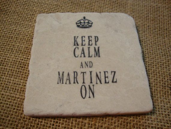 Keep Calm And Personalize Name On Tile Coasters Custom