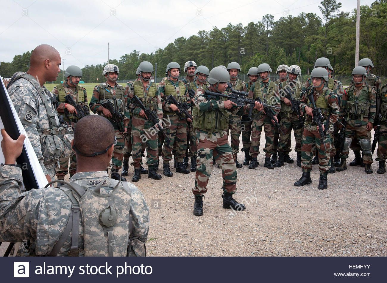 Download this stock image: Indian Army Maj  Arvind Singh, a