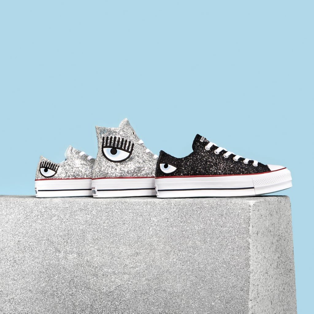 Converse x Chiara Ferragni Glitter Sneaker Collection 2018
