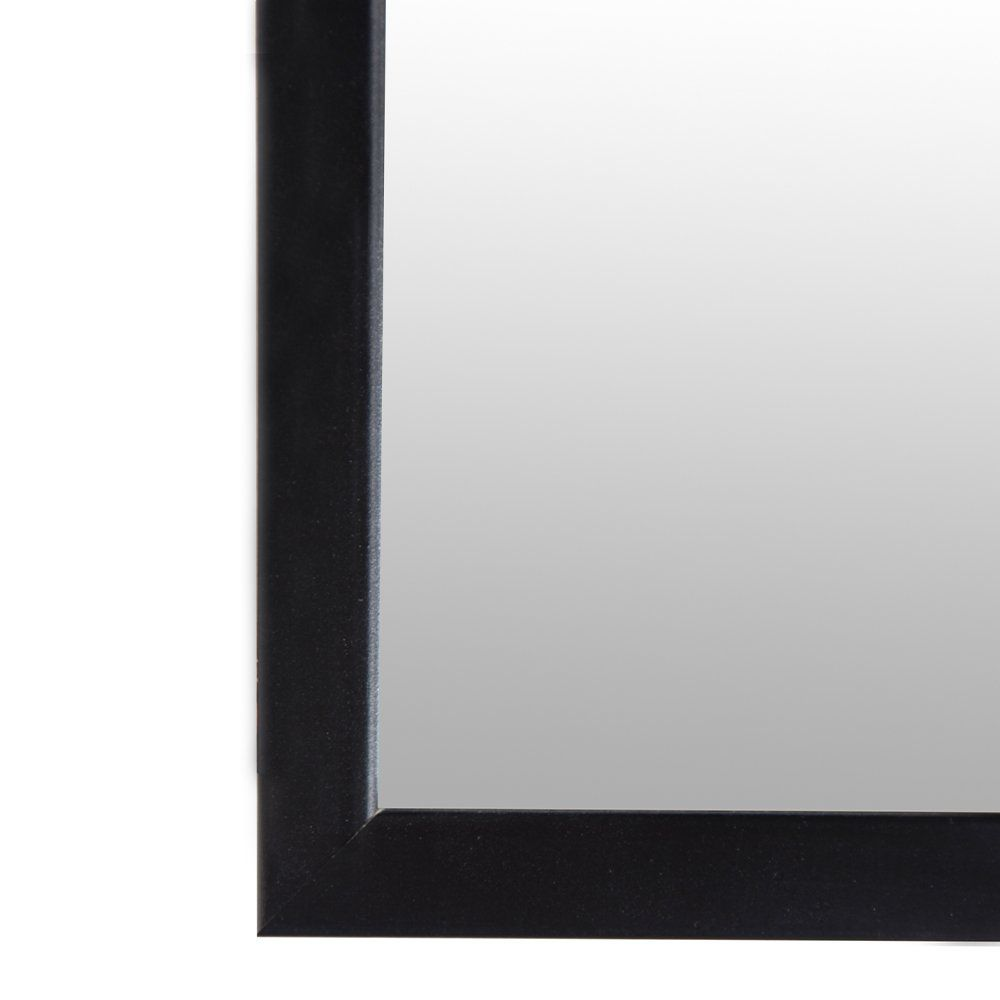 Pinnacle Frames And Accents Small Decorative 4 Inch X 12 Inch Mirror With Classic Black Frame To View Further For Th Black Frame Wall Mounted Mirror Mirror